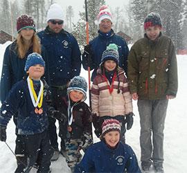 Glacier Nordic Club events